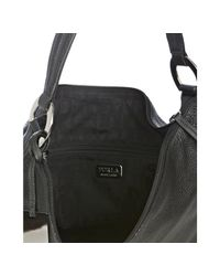 Furla | Black Onyx Leather Hope Shoulder Bag | Lyst