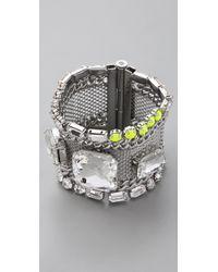Juicy Couture   Metallic Mesh Chain Bracelet   Lyst