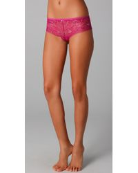 Calvin Klein | Pink Naked Glamour All Lace Hipster | Lyst