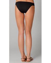 L*Space - Black Foxy Tab Bikini Bottoms - Lyst