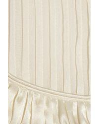 Temperley London - White Grace Silk-chiffon Blouse - Lyst