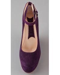 Boutique 9 - Purple Cesena Wedge Pumps - Lyst