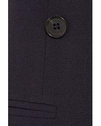 Michael Kors - Blue Stretch-wool Sleeveless Blazer - Lyst