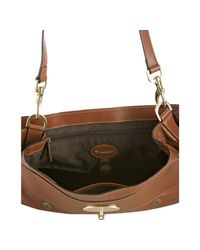 Mulberry - Brown Oak Buffalo Leather Alexa Oversized Satchel - Lyst