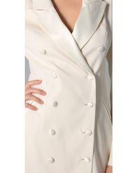 Rachel Zoe - White Cameron Tuxedo Dress - Lyst