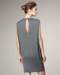 Stella McCartney | Gray Wolf T-shirt Dress | Lyst