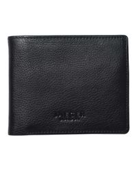 Jaeger | Black Bi-fold Nappa Leather Wallet for Men | Lyst