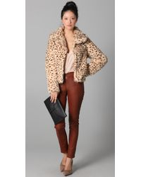 Rory Beca - Multicolor Moss Fur Jacket - Lyst