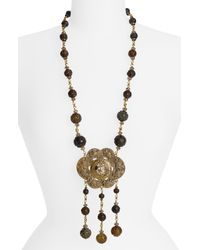 Stephen Dweck | Metallic Large Medallion Statement Necklace | Lyst