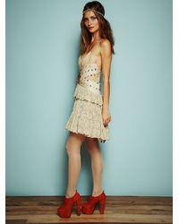 Free People - Metallic Anas Limited Edition Ballet Dreams Dress - Lyst