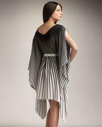 Gottex | Black Vasarelli Striped Coverup | Lyst