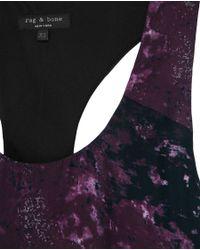 Rag & Bone | Bahia Top -purple | Lyst
