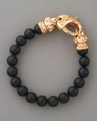 Stephen Webster | Black Onyx Bead Bracelet for Men | Lyst