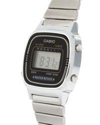 G-Shock - Metallic Mini Digital Watch - Lyst