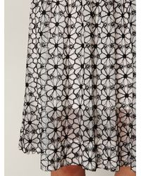 Free People - Black Sheer Tea Length Tank Dress - Lyst
