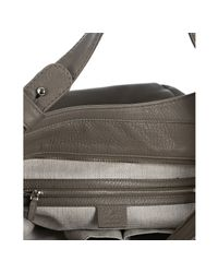 Gucci | Gray Grey Pebbled Leather Large Horsebit Charm Hobo | Lyst