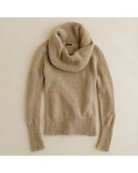 J.Crew | Natural Wynter Cowlneck Sweater | Lyst