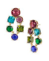kate spade new york   Multicolor 'trellis Blooms' Drop Earrings   Lyst