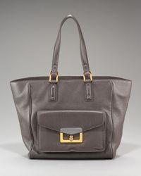 Marc By Marc Jacobs | Gray Hayley Leather Tote | Lyst