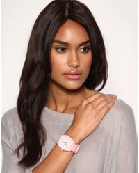 Nixon - Pink The Time Teller P Watch - Lyst