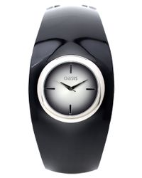Oasis | Black Bangle Watch | Lyst