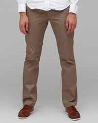 RVCA | Natural Weekender Pant in Khaki for Men | Lyst