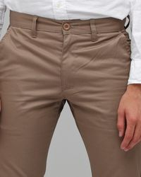 RVCA | Natural Weekender Pant in Khaki for Men | Lyst
