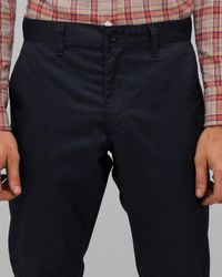 RVCA | Blue Weekender Pant in Navy for Men | Lyst