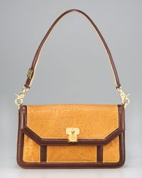 Tory Burch | Brown Bond Flap Shoulder Bag | Lyst