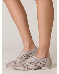 Free People | Gray Harland Slip On Brogue | Lyst