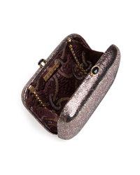 KOTUR - Black Preorder Metallic Stingray Box Clutch - Lyst
