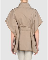Brunello Cucinelli   Khaki Fulllength Jacket   Lyst