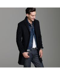 J.Crew | Black Westbourne Cashmere Topcoat for Men | Lyst