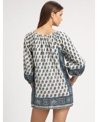 Joie | Blue Marci Printed Coverup | Lyst