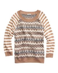Madewell | Brown North Isles Sweater | Lyst