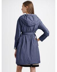 Max Mara - Blue Raincoat - Lyst