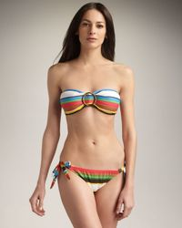 MILLY | Multicolor Sunset Bay Tie Bottom | Lyst