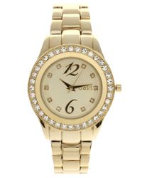 Oasis | Metallic Gold Plated Bracelet Watch | Lyst