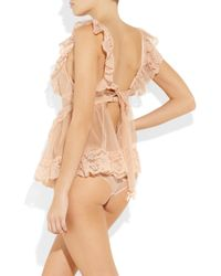 Agent Provocateur | Pink Lucienne Pinafore | Lyst