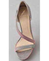 B Brian Atwood - Green Consort High Heel Sandals - Lyst