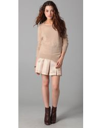 Club Monaco - Natural Belle Sweater - Lyst