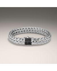 John Hardy - Black Large Bracelet - Lyst