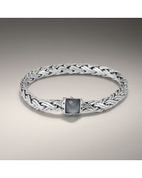 John Hardy | Metallic Small Braided Bracelet | Lyst