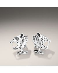 John Hardy | Metallic Tiger Head Cufflinks for Men | Lyst