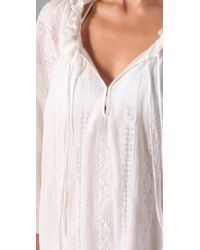 Joie - White A La Plage Tesha Tunic Cover Up - Lyst
