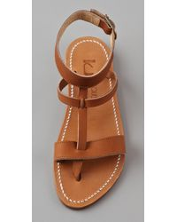 K. Jacques | Natural Corvette Sandals | Lyst