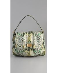 Marc By Marc Jacobs | Green Supersonic Snake Printed Lil Ukita Satchel | Lyst