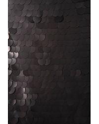TOPSHOP | Black Big Sequin One Shoulder Dress By Dress Up | Lyst