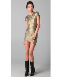 Torn By Ronny Kobo | Metallic Kaitlyn Dress | Lyst