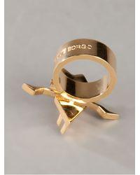 Eddie Borgo - Metallic Tiger Orchid Ring - Lyst